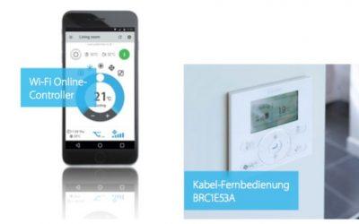 Smart home auch fürs Heim-Klima. WiFi Online Controller