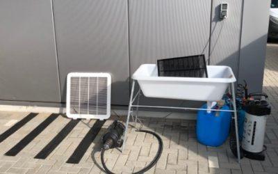 Eine saubere Sache – Wartung mit Hygienestation