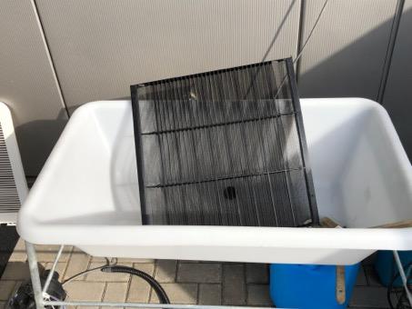 Hygienische Filterreinigung